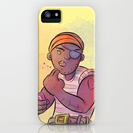 Stowaway Pirate iPhone Case