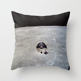 Apollo 10 - Far Side Of The Moon Throw Pillow