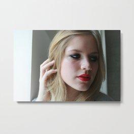 Belinda, 2009.  Metal Print