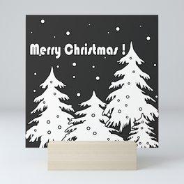 Merry Christmas ! Mini Art Print