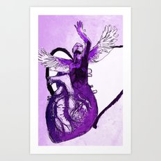 From the Heart: Part 3 Art Print