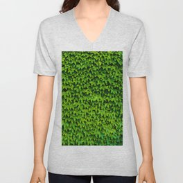 Greenery Luck (Color) Unisex V-Neck