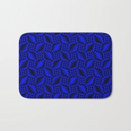 Blue shells Bath Mat