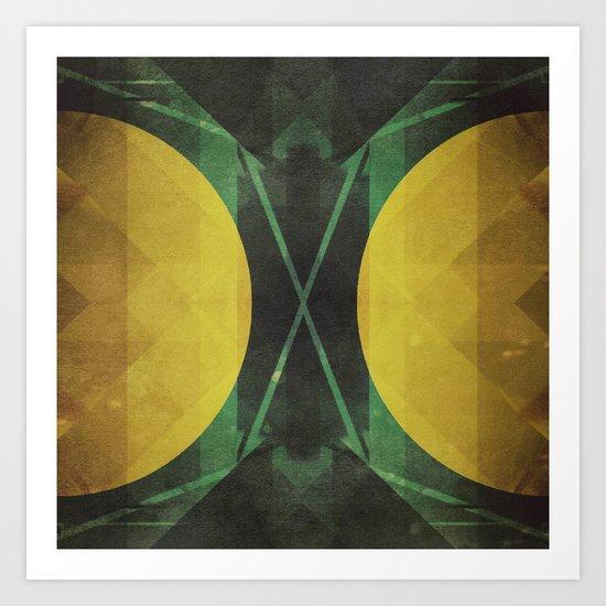 Electro-Magnetic Restraint Art Print