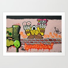 Summerjam Art Print