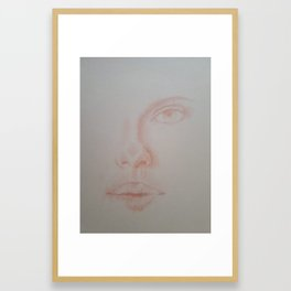 Wide open Part II Framed Art Print