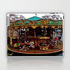 Merry Go Round Paree Laptop & iPad Skin