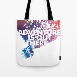 Adventure is Out there Art print Tote Bag