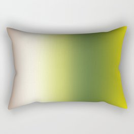 Ombre Shades of Green 1 Reversed Rectangular Pillow