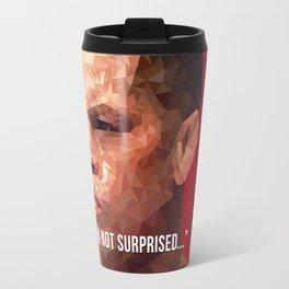 I'm Not Surprised - Nate Diaz Travel Mug
