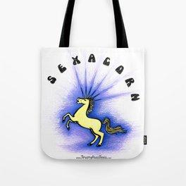 Sexacorn Tote Bag