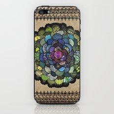 Peacock Bloom iPhone & iPod Skin