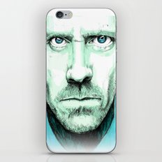 hallucinogenic House iPhone & iPod Skin