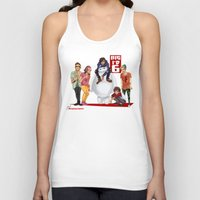 1d Tank Tops featuring Big 1D 6! by justsomestuff