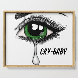 Cry Baby Serving Tray