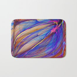 Abstract composition 102 Bath Mat