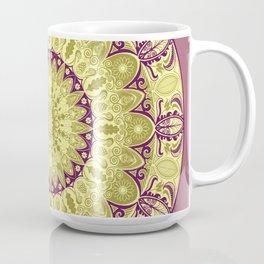 Oak Leaf Mandala Coffee Mug