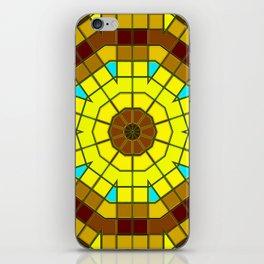 Glass Kaleidoscope iPhone Skin
