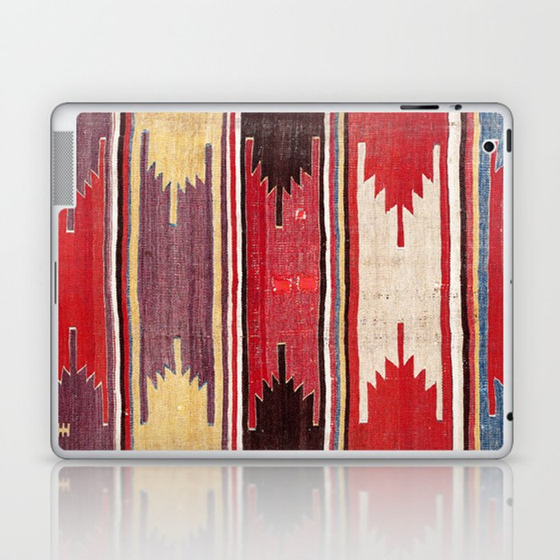 Nevsehir Cappadocian Central Anatolian Kilim Print Laptop & iPad Skin