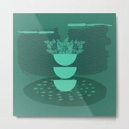 A Happy Green Room Metal Print