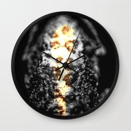 Downward Toad — Icons & Relics. Wall Clock