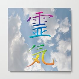 REiKi UP TO THE SKY Metal Print