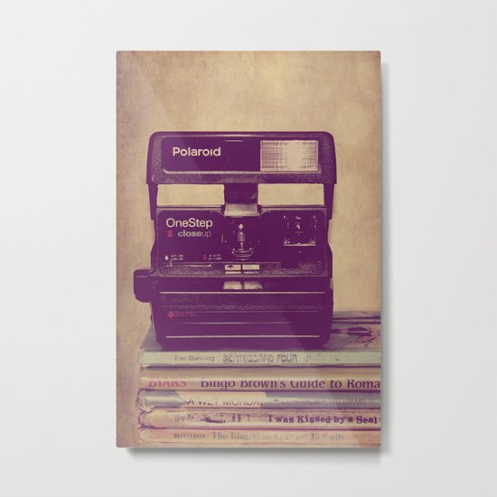 Retro Love Metal Print