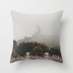 Tian Tan Buddha Throw Pillow