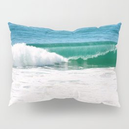 Cerulean Surf Pillow Sham