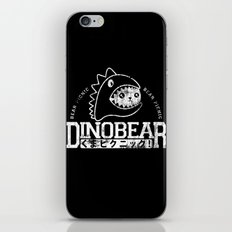 Vintage Dinobear iPhone & iPod Skin
