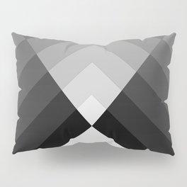 Black & White Geometry Pillow Sham