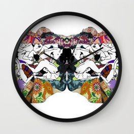 Psychological sex Wall Clock