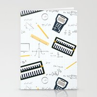 math Stationery Cards featuring Math by S. Vaeth