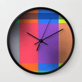 Rectangles in Square Wall Clock
