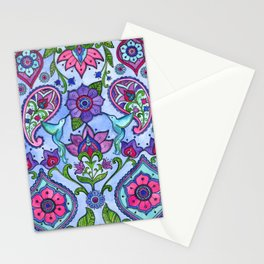 Hummingbird Paisley Stationery Cards