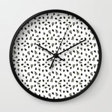 Natural & Dry Leaves  Wall Clock