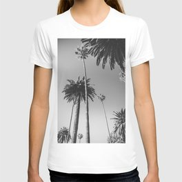 Palm Trees (Black and White) T-shirt
