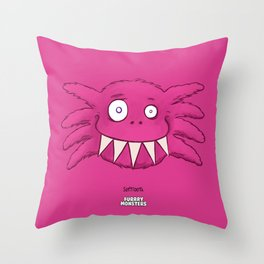 SoftTooth Throw Pillow