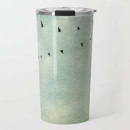 A Flock of Seagulls Travel Mug
