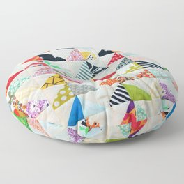 Flying Geese Quilt Pattern Floor Pillow