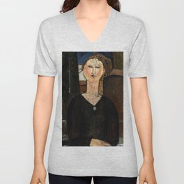 "Amedeo Modigliani ""Antonia"" Unisex V-Neck"