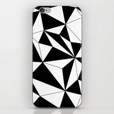 Geo - black and white iPhone & iPod Skin
