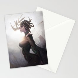 Queen of Death Stationery Cards