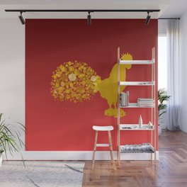 2017 Chinese Lunar New Year Of The Rooster Wall Mural
