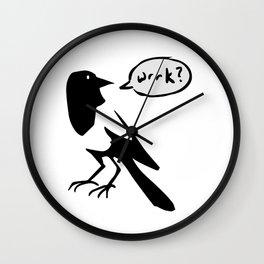 Wrrk? Wall Clock