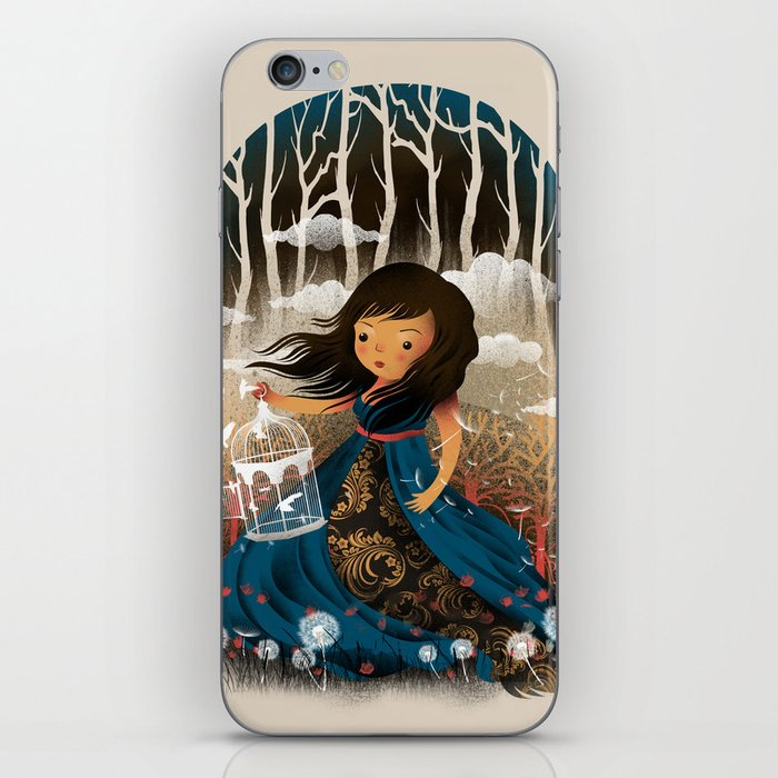 There Once Was A Girl In A Whimsical Land iPhone Skin