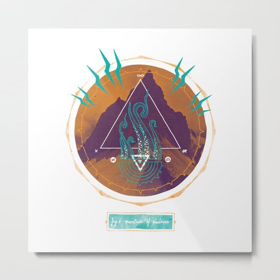 The Mountain of Madness Metal Print