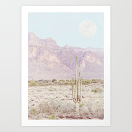 Moon Rise Art Print