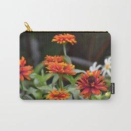 Orange Dahlias Carry-All Pouch