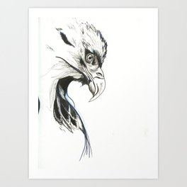 War Eagle Art Print